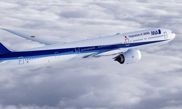 Boeing, All Nippon Airways Finalize Order for 40 Widebody Airplanes
