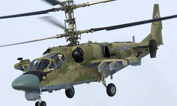 Russian Helicopters presents new military helicopters
