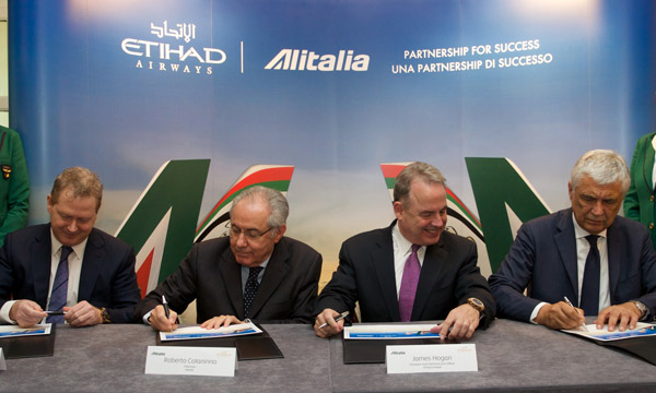 Etihad Airways and Alitalia finalise €1,758 Million investment deal