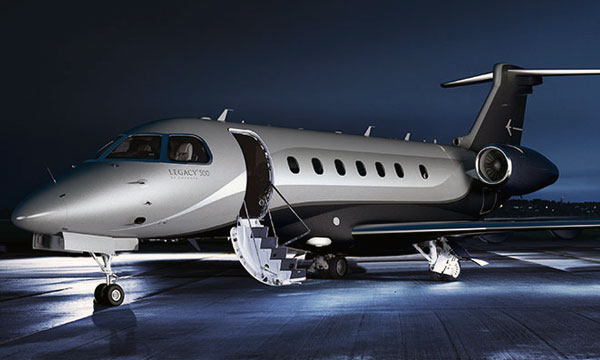 Honeywell Propels Embraer Legacy 500 Into Service