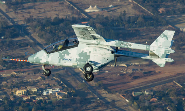 AHRLAC achieves its first flight
