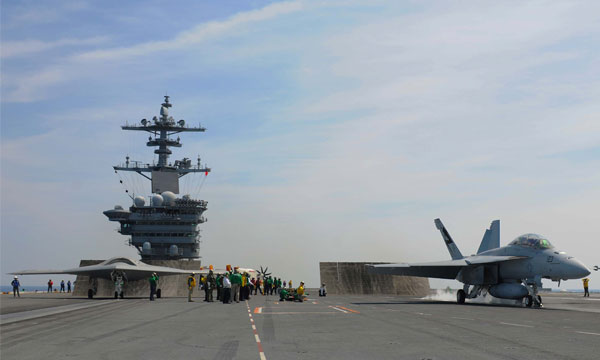 USS Theodore Roosevelt Conducts Combined Manned, Unmanned Operations (video)