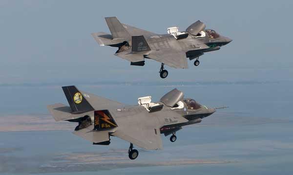 F-35 Flight Test Program Milestones Maturing Combat Capabilities