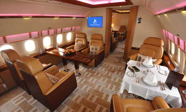 Airbus ACJ319 offers largest cabin at Jet Expo
