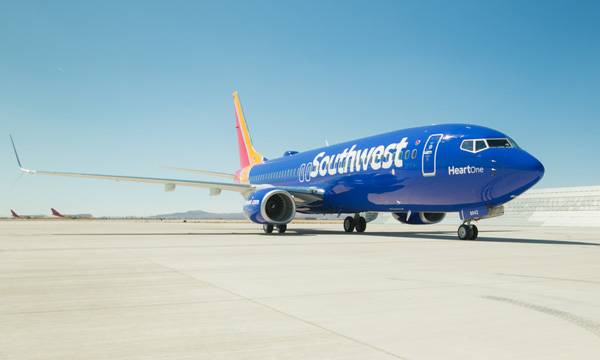 Southwest Airlines unveils its new look
