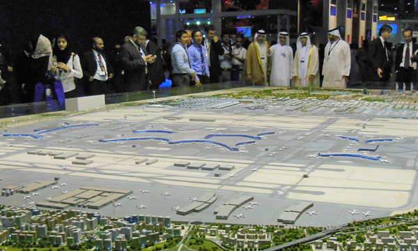 Dubai Airports welcomes Sheikh Mohammed's approval of 32bn US dollars DWC airport expansion plan