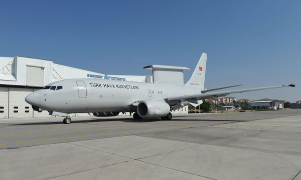 Boeing Delivers 3rd Peace Eagle Aircraft to Turkey
