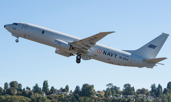 Boeing Delivers 5th P-8I Maritime Patrol Aircraft to India