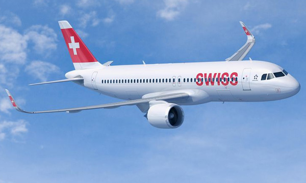 Swiss orders up to 25 A320neo
