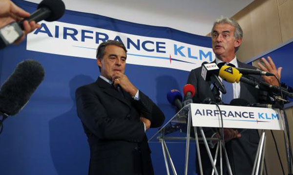Unions reject Air France plan; strike to continue