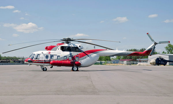 Russian Helicopters tests Mi-171A2 helicopters with latest avionics suite