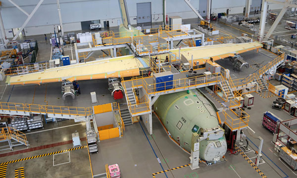 First A400M taking final shape in Malaysia