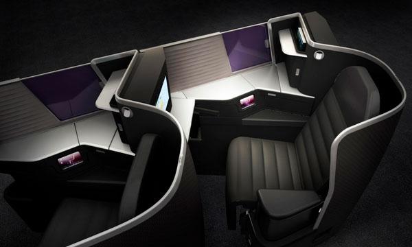Virgin Australia unveils brand-new business class