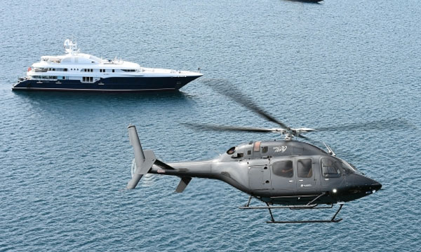 Bell Helicopter makes first VIP Bell 429 delivery in France at Monaco Yacht Show