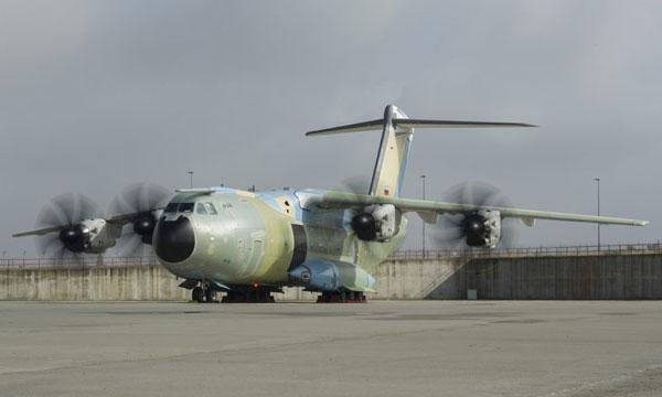 First German A400M begins final tests