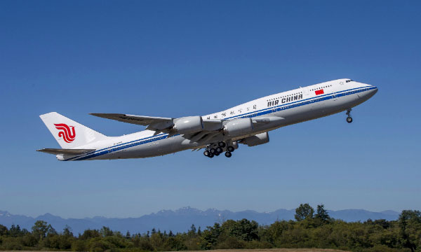 Boeing delivers first 747-8I aircraft in Asia to Air China