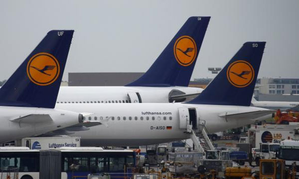 Lufthansa pilots' 15-hour strike affects 9,000 travelers