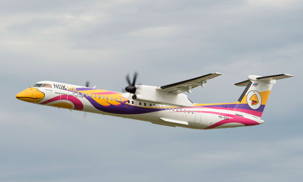 Nok Air receives first high-capacity Bombardier Q400