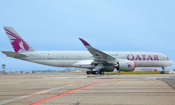Airbus A350 XWB for first customer Qatar Airways in final stage of production