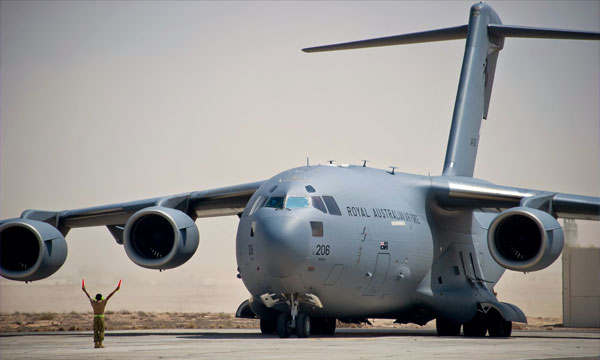 Royal Australian Air Force to purchase of two C-17A Globemaster aircraft