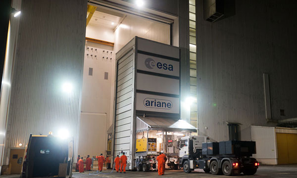 ISDLA-1 ready for integration on its Ariane 5 launcher