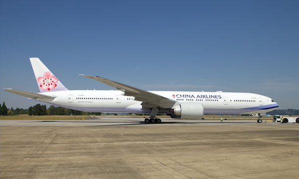China Airlines receives their first of 10 Boeing 777-300ER