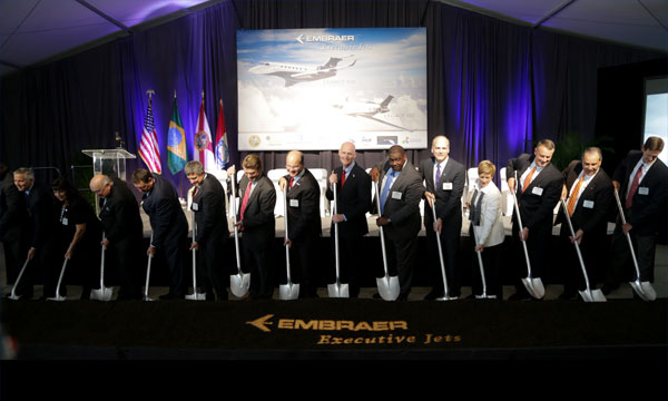 Embraer announces U.S.A expansion with Legacy 500/450 assembly facility