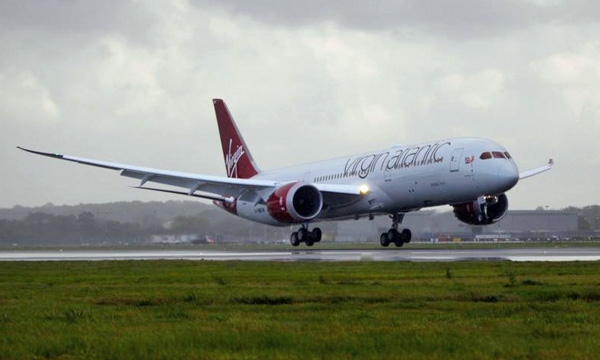 Virgin Atlantic Airways receives first 787-9 Dreamliner