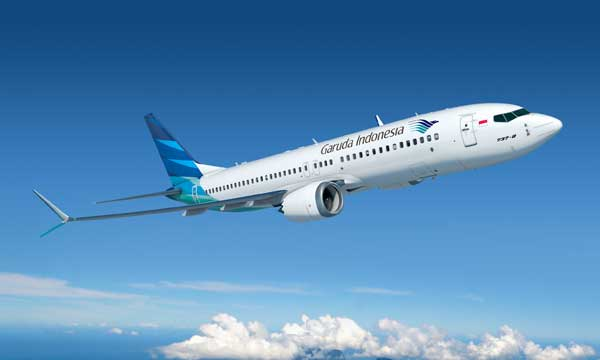 Garuda Indonesia orders 50 737 MAX 8s for $4.9 billion