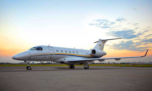 Embraer delivers first Legacy 500