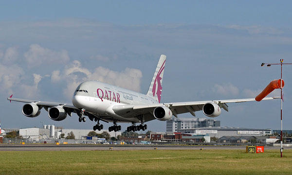 Qatar Airways inaugurates first A380 flight