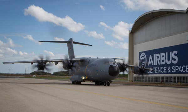 German A400M completes taxi trials
