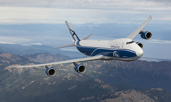 AirBridgeCargo Airlines receives brand new 747-8 Freighter