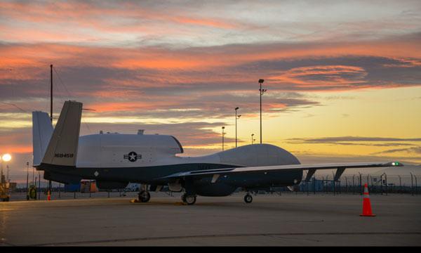 Second Northrop Grumman-Built Triton UAS completes first flight