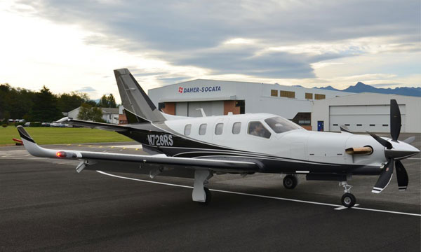 DAHER-SOCATA showcases its TBM 900