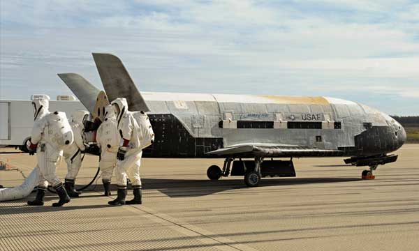 Boeing's X-37B lands after almost 2 years in orbit