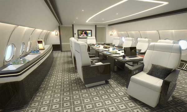 Airbus reveals new VIP cabin for ACJ330 aircraft