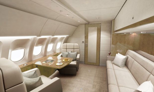 Lufthansa Technik adds VIP cabin to Airbus A320 and Boeing 737 families