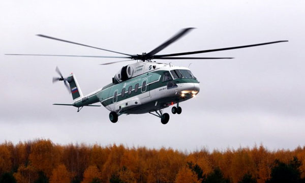 Rostec Mi-38 prototype makes first flight