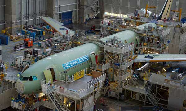 Continuous improvement to extend the A330 Family market coverage