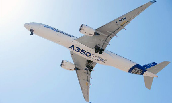 Airbus A350-900 receives FAA Type Certification