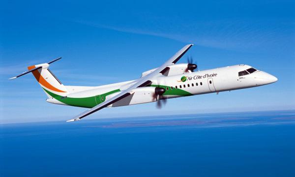 Bombardier Delivers Two Q400 NextGen Airliners to Air Côte d'Ivoire
