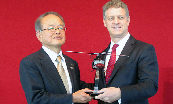 Bell Helicopter Announces Sale of Bell 412EP to Nishi Nippon Airlines