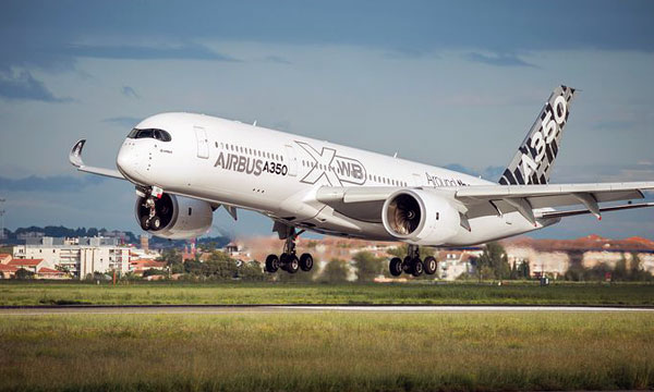 The A350 XWB embarks on demonstration tour of Asia