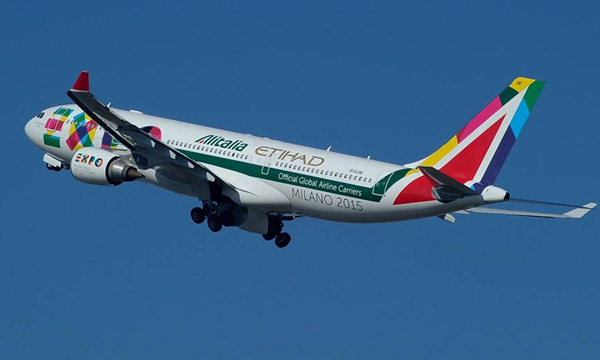 Alitalia and Etihad Airways receive clearance from the European commission