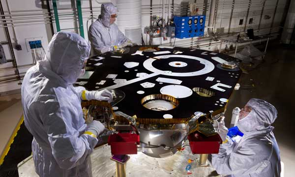 Lockheed Martin Begins Final Assembly Of NASA's Next Mars Lander