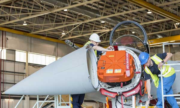 Eurofighter and NETMA sign one billion euro radar contract