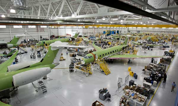 Gulfstream manufactures 100th G650