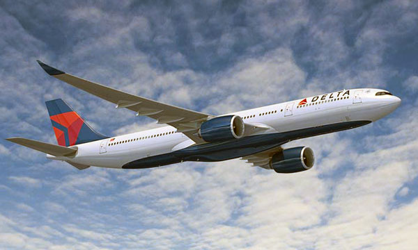 Delta orders 50 Airbus widebody aircraft