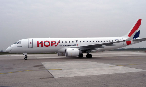HOP ! Air France, the short-haul activity of the Air France Group